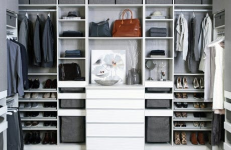 California Closets contemporary walk in closet design Albuquerque