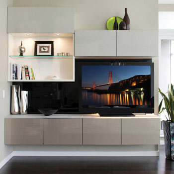 Entertainment Center - California Closets