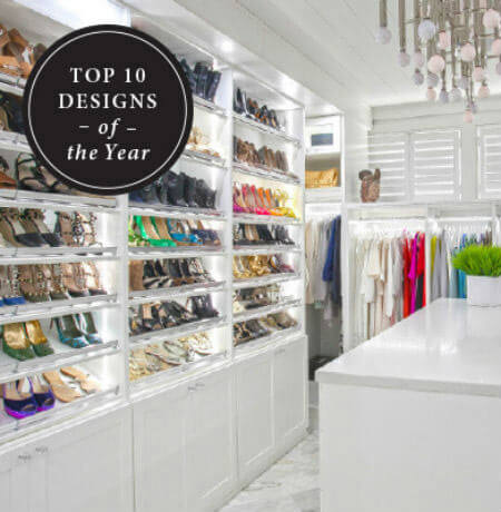 California Closets Top 10 Designs of The Year