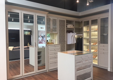Burlingame Showroom Interior 2017- California Closets