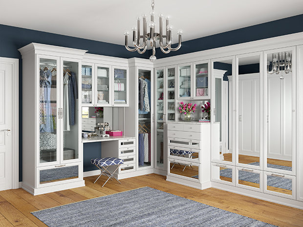 California Closets Nassau County - Custom Walk-In Closet