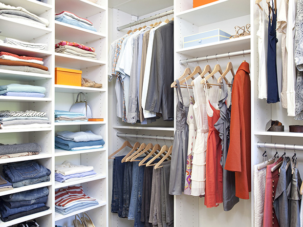California Closets Albuquerque - Custom Walk-In Closet System