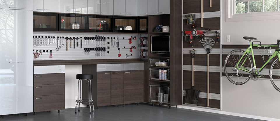 California Closets Denver - Transform Your Garage with Custom Garage Cabinets