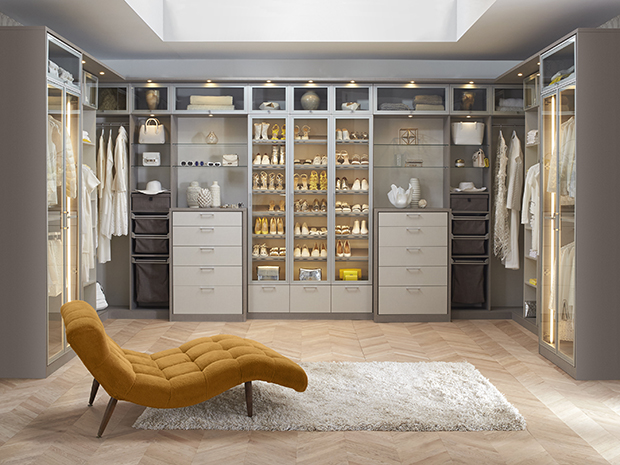 California Closets Central Illinois- Custom Walk-In Closet System