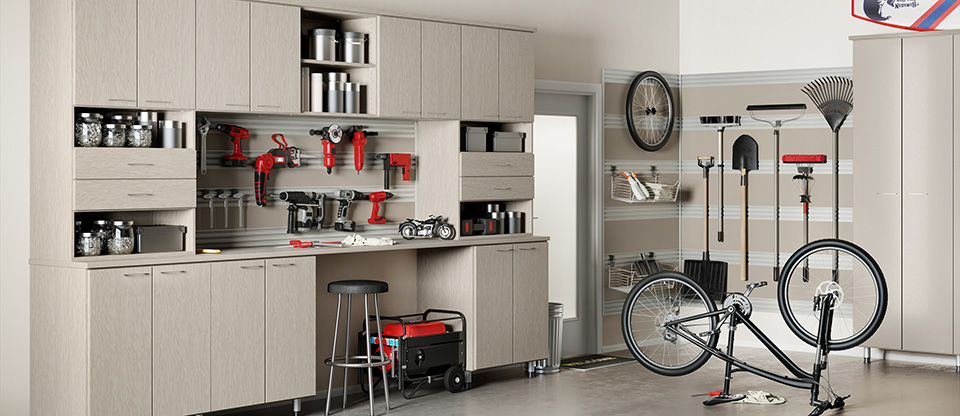 California Closets Birmingham - Transform Your Garage into a Functional Room with Custom Storage Solutions