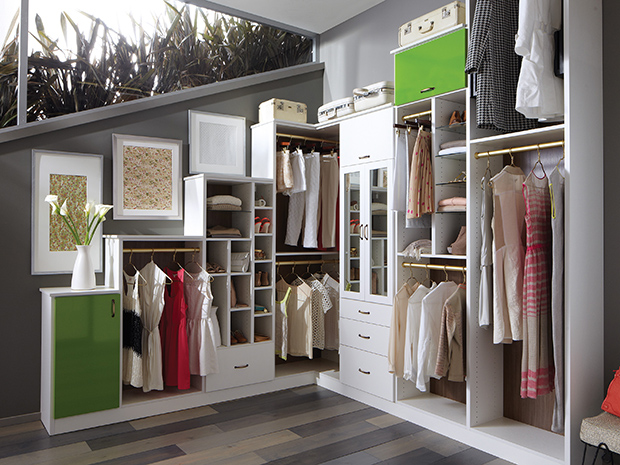 California Closets Nashville - Walk-In Closet