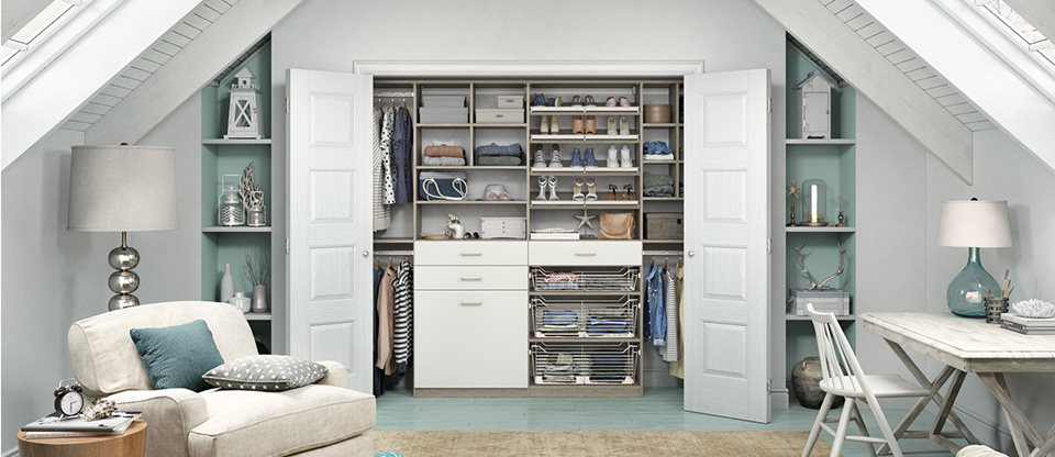 California Closets West Palm Beach - Reach-In Closet Ideas to Organize your Bedroom