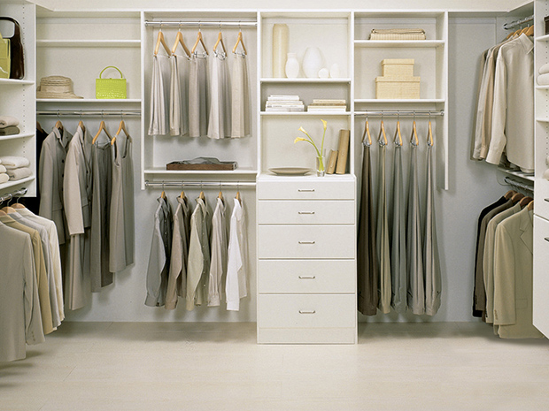 California Closets Myrtle Beach - Walk-In Custom Closet