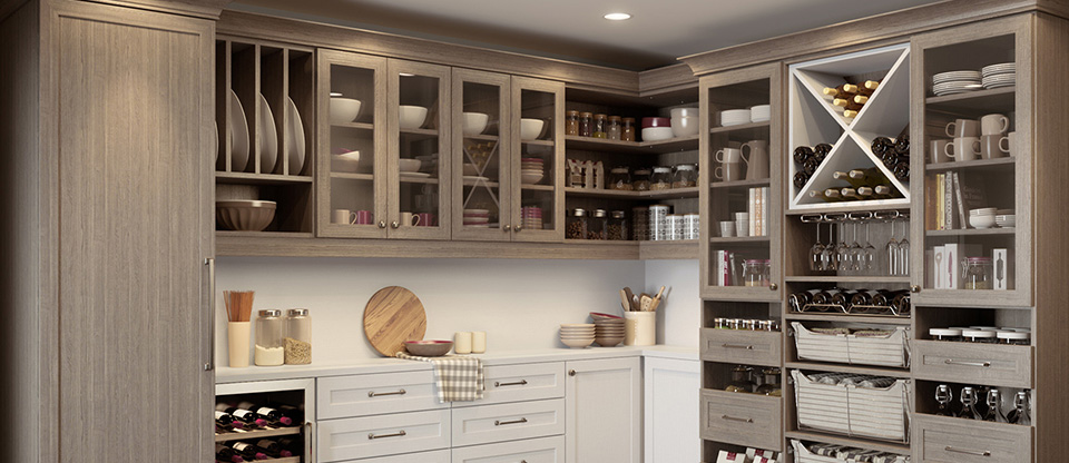 California Closets Central Mass. - Organize Your Kitchen Cabinets with Pantry Storage Ideas