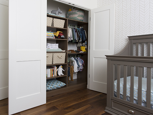 California Closets Corpus Christi - Nursery Closet System