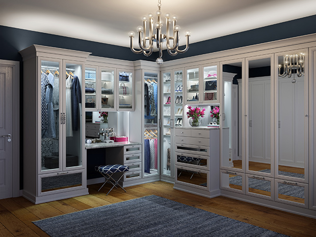 California Closets Corpus Christi - Walk-In Closet Unit