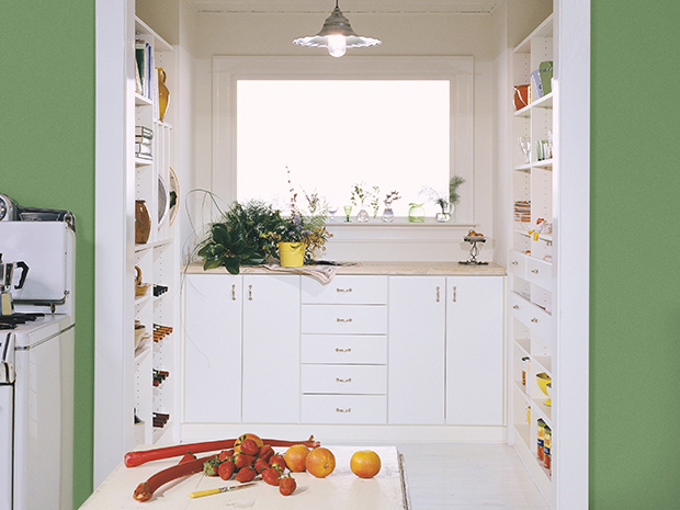 California Closets West Palm Beach - Custom Pantry Storage System