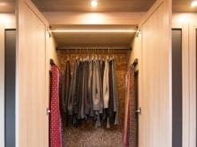 California Closets Client Story Jill K Pants and Ties Section