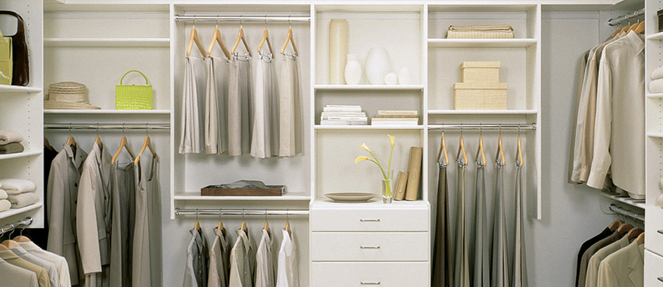 California Closets Santa Barbara - Tips to Designing a Beautiful Walk-In Closet