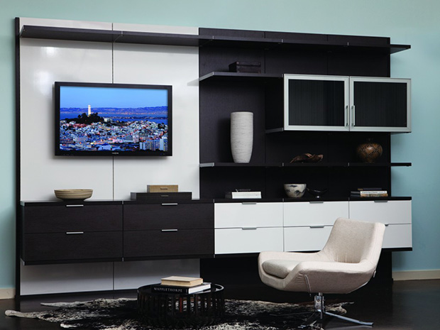 California Closets St. Louis - Entertainment Center and Storage