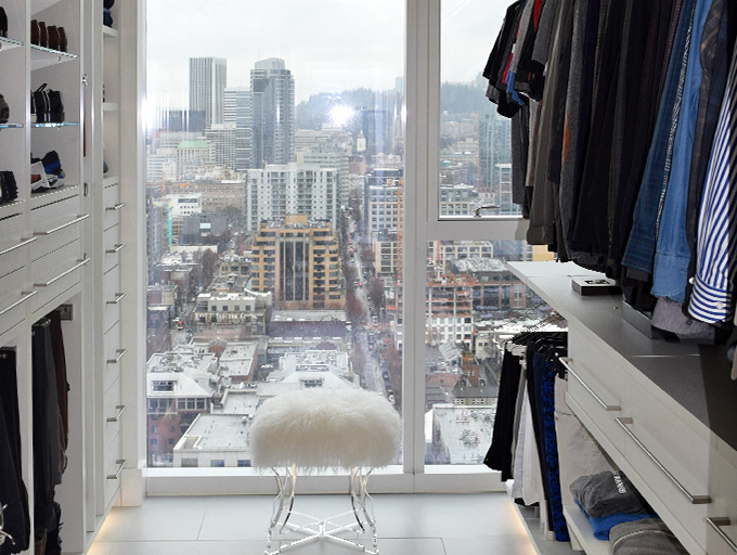 California Closets Top 10 Designs of 2016 - Bright White with a View