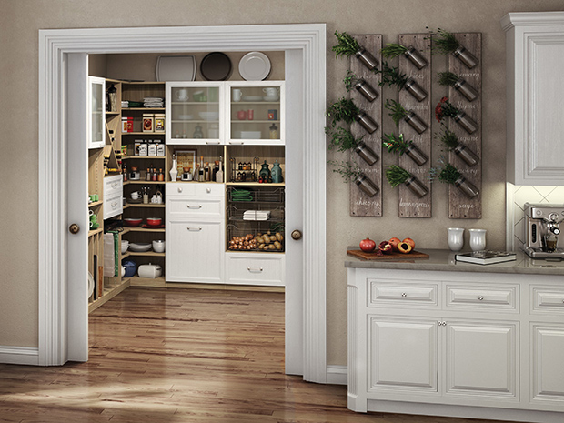 California Closets Anchorage: Chef's Pantry Kitchen Storage System