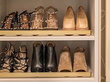 California Closets Chad Pruett Client Story Shoes Close Up