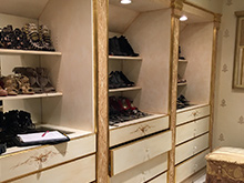 California Closets Michelle Mangini Client Story shoes and drawers
