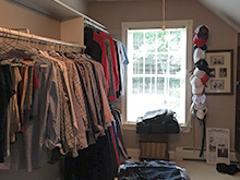 Local Client Story: His Closet-Michelle Mangini, Albany New York
