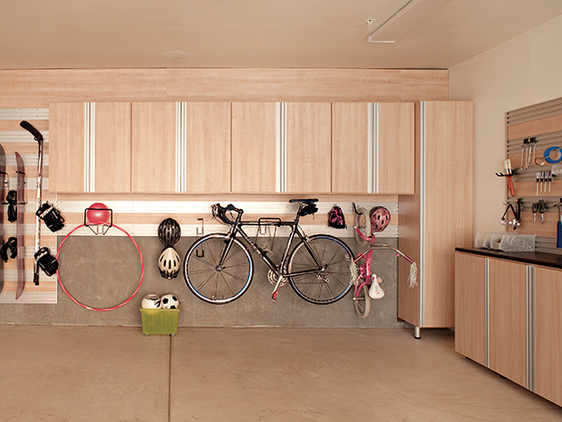 California Closets Bluffton - Garage Accessory Wall System