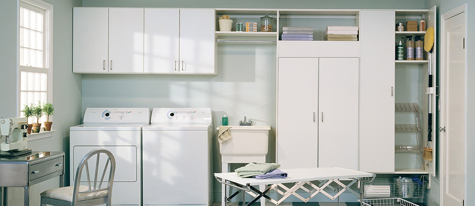 California Closets Indianapolis - Improve Your Laundry Room with Custom Storage Solutions