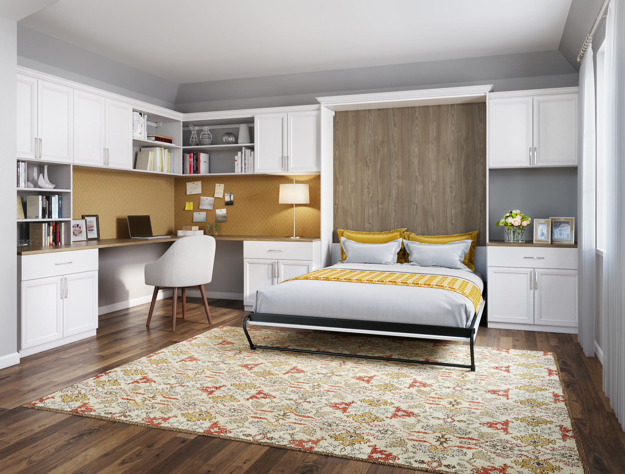 California Closets Dallas - Standard Wall Bed System