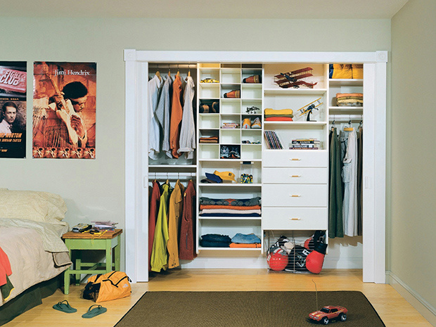 CALIFORNIA CLOSETS CLEVELAND – IDEAS FOR DESIGNING A SAFE AND FASHIONABLE KIDS CLOSET