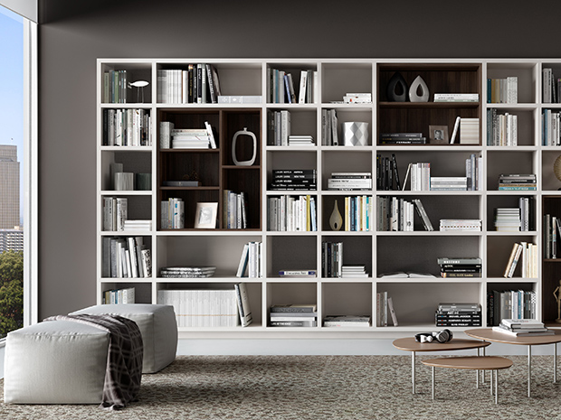 California Closets Greater Phoenix: Architect's Library Custom Storage System