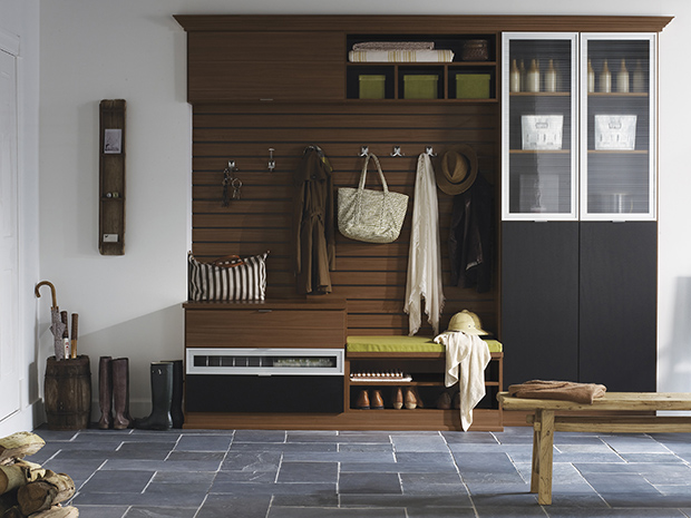 California Closets KC - Mudroom Storage System
