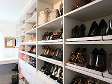 Local Client Story Jenna Markham Shoe Rack Close Up