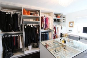 Transforming a Michigan Guest Bedroom Into a Multipurpose Dream Closet