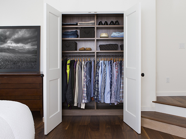 California Closets West Palm Beach - Reach-In Custom Storage Closet