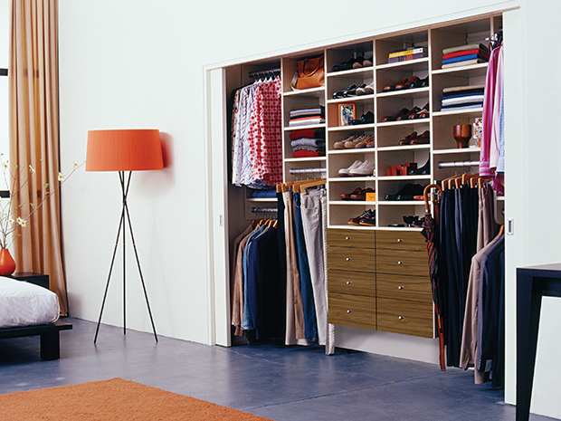 California Closets San Fernando Valley - Custom Reach-in Closet System