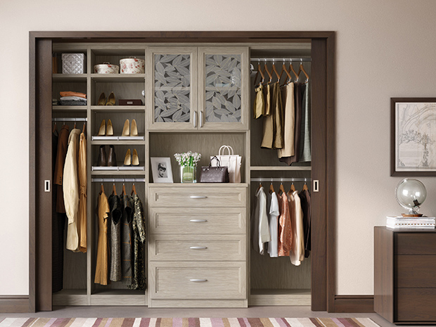 California Closets Houston - Reach-In Closet System