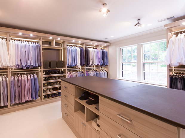 California Closets Columbus - Custom Walk-In Closet System