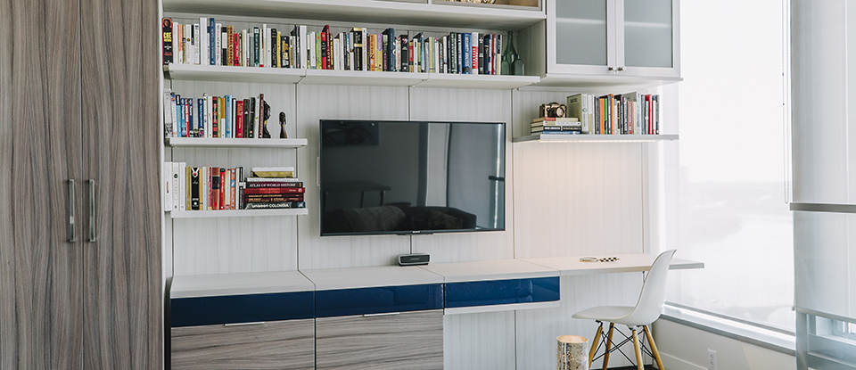 California Closets Ft. Worth - Entertain Guests at Home with the Ultimate Media Center