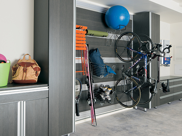 California Closets Indianapolis - Garage Wall Storage System