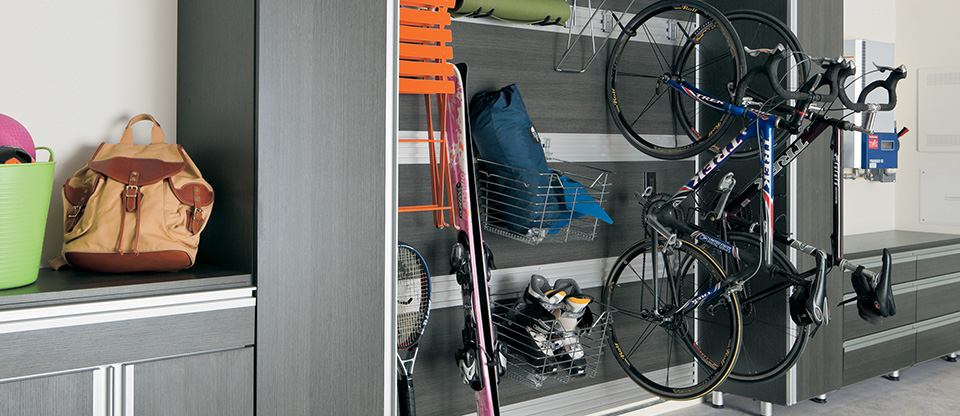 California Closets Westchester - Simplify Garage Storage with Custom Shelving Options