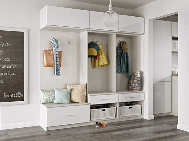 California Closets Albuquerque - Custom Mudroom System