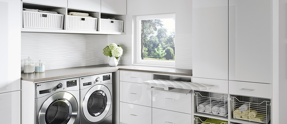 California Closets Northern Indiana - Five Storage Ideas for Your Laundry Room
