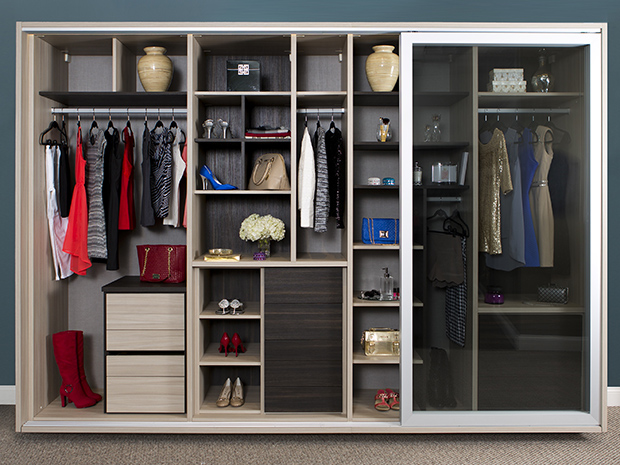 California Closets Reno - Custom Wardrobe System