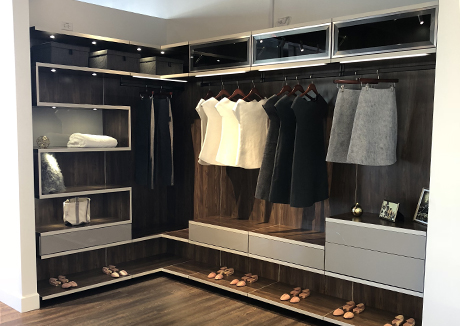 California Closets showroom interior