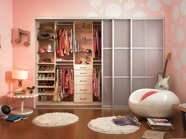 California Closets St. Louis - Kid's Closet System