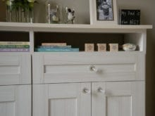 Melissa Maeker Commercial Client Story California Closets Bedroom Storage Solution in light brown finish