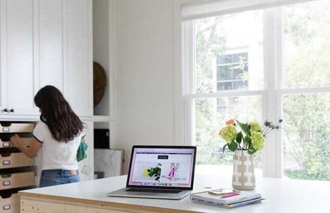 Perfección organizada para la autora y blogger de estilo de vida Camille Styles