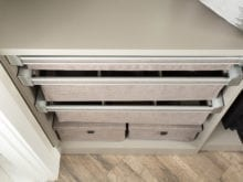 Jodie Parr Client Story Fabric Drawers for Jewelry and small item storage