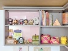 Erin Feher Client Story Dark Gray Storage Shelving For Kids Toys