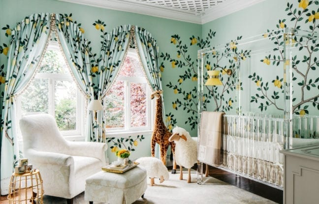 Interior Designer Dina Bandman's Whimsical Nursery
