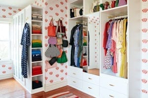 Fashion designer Clare Vivier's boutique-inspired dream closet